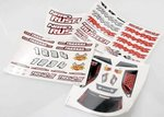 Traxxas TRX-4413X Decal sheets, Nitro Rustler