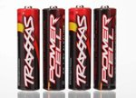 Traxxas TRX-2914 Power Cell AA Alkaline 4PK