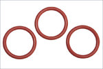 Kyosho ORG18 O-RING SILIKON, P18, ORANGE (3)