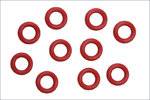 Kyosho ORG05 O-RING INNEN 5MM, ROT (10)