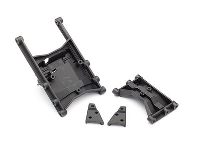 Traxxas 8830 Chassis Crossmember indermediate (1) & hinten (1)