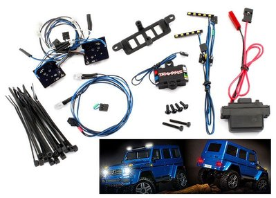 Traxxas 8898 LED Licht-Set kpl mit Power-Supply für #8811 oder 8825 Karo